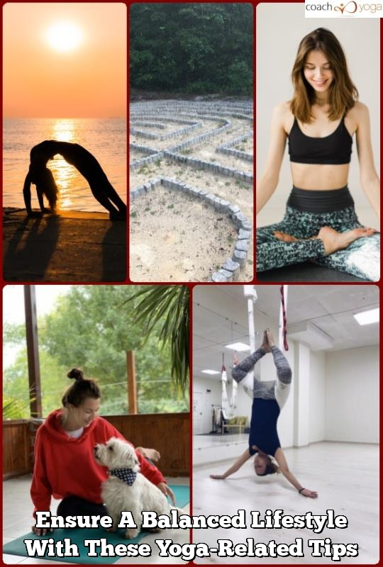 ensure a balanced lifestyle with these yoga related tips