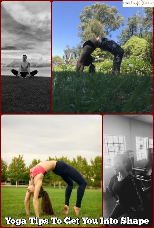 yoga tips to get you into shape